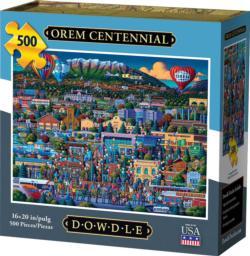 Orem Centennial Americana & Folk Art Jigsaw Puzzle