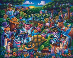 Tortoise and the Hare Turtles Jigsaw Puzzle