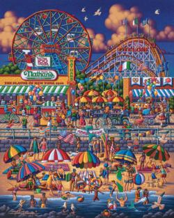 Coney Island New York Jigsaw Puzzle