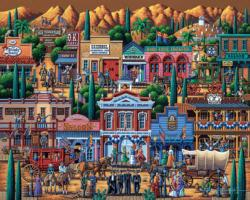 Tombstone Americana & Folk Art Jigsaw Puzzle