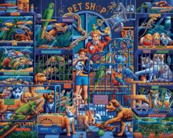 Pet Shop Animals Jigsaw Puzzle