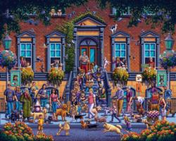 Strut Your Mutt Dogs Jigsaw Puzzle