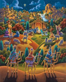 Nativity Christmas Jigsaw Puzzle