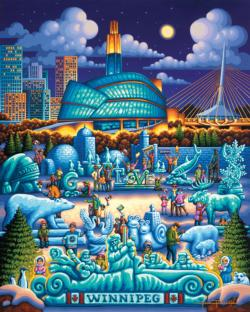 Winnipeg Americana & Folk Art Jigsaw Puzzle