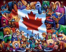 Animals of Canada Canada Jigsaw Puzzle