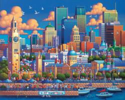 Montreal Canada Jigsaw Puzzle