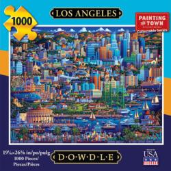 Los Angeles Americana & Folk Art Jigsaw Puzzle