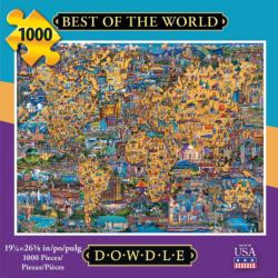 Best of the World Americana & Folk Art Jigsaw Puzzle