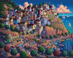Italy's Cinque Terre Italy Jigsaw Puzzle
