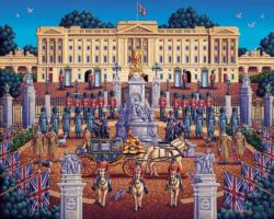 Buckingham Palace - Scratch and Dent United Kingdom Jigsaw Puzzle