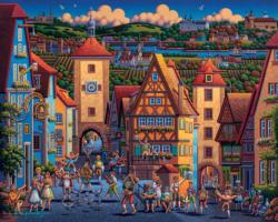 Rothenburg ob der Tauber Germany Jigsaw Puzzle