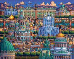 St Petersburg Europe Jigsaw Puzzle