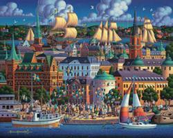 Stockholm Seascape / Coastal Living
