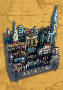 Philadelphia Cities 3D Puzzle