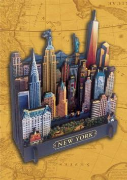 New York New York 3D Puzzle