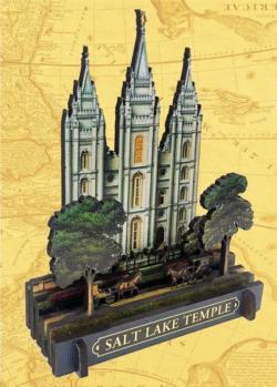 Salt Lake Temple Religious 3D Puzzle