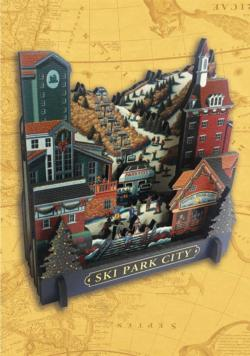 Ski Park City Cities 3D Puzzle