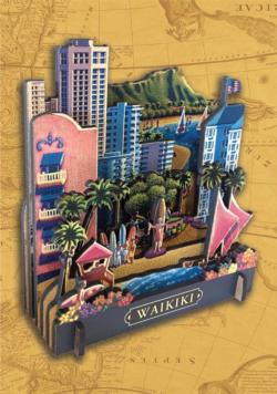 Waikiki Cities 3D Puzzle