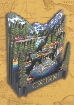 Lake Tahoe 3D Puzzle