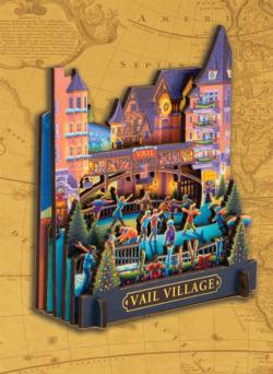 Vail Village Cities 3D Puzzle