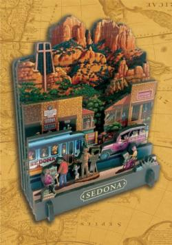 Sedona Cities 3D Puzzle