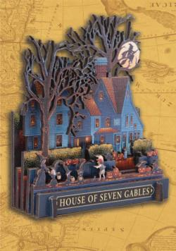House of Seven Gables Halloween 3D Puzzle