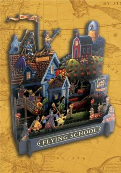 Flying School Fantasy 3D Puzzle