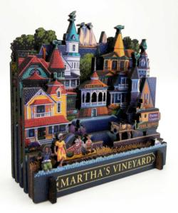 Martha's Vineyard Americana & Folk Art 3D Puzzle