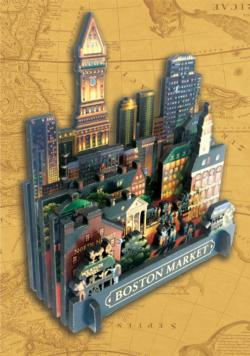 Boston Market Cities 3D Puzzle