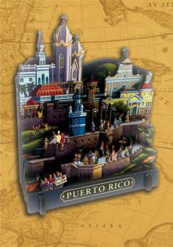 Puerto Rico Cities 3D Puzzle