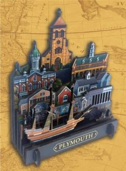 Plymouth Cities 3D Puzzle