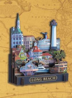 Long Beach Beach 3D Puzzle