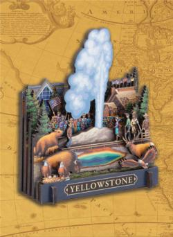 Yellowstone National Park National Parks 3D Puzzle