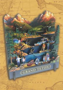 Grand Teton National Park National Parks 3D Puzzle