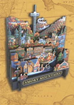 Smoky Mountain National Park National Parks 3D Puzzle