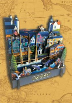 Acadia National Park Cities 3D Puzzle