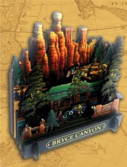 Bryce Canyon National Park Landscape 3D Puzzle