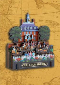 Williamsburg National Historic Park Americana & Folk Art 3D Puzzle