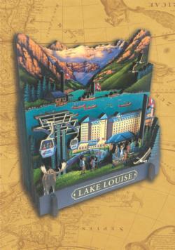Lake Louise 3D Puzzle