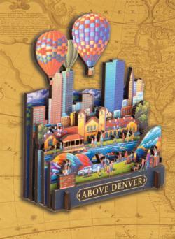 Above Denver Cities 3D Puzzle