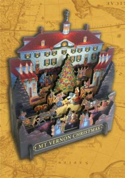 Mount Vernon Christmas Christmas 3D Puzzle