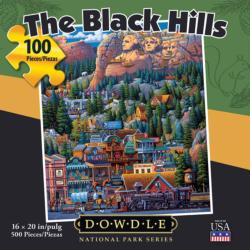 The Black Hills Americana & Folk Art Jigsaw Puzzle