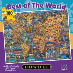 Best of the World Americana & Folk Art Jigsaw Puzzle