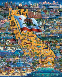Best of Southern California California Jigsaw Puzzle