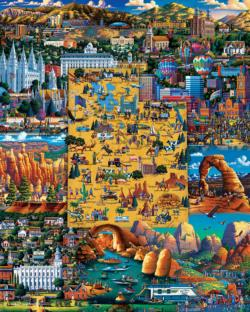 Best of Utah Americana & Folk Art Jigsaw Puzzle