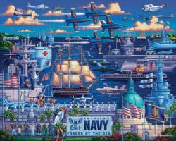 U.S. Navy Military / Warfare Jigsaw Puzzle