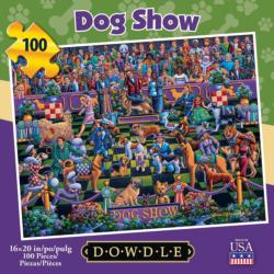 Dog Show Dogs Jigsaw Puzzle