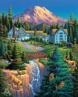 Mt Ranier National Park (Dowdle Doodles Coloring Book) National Parks Coloring Book