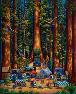 Redwood National Park (Dowdle Doodles) National Parks Coloring Book