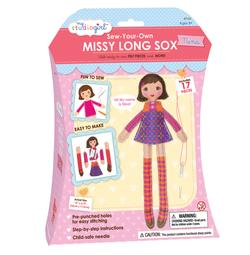 Missy Long Sox Dolls: Nina Brunette Toy